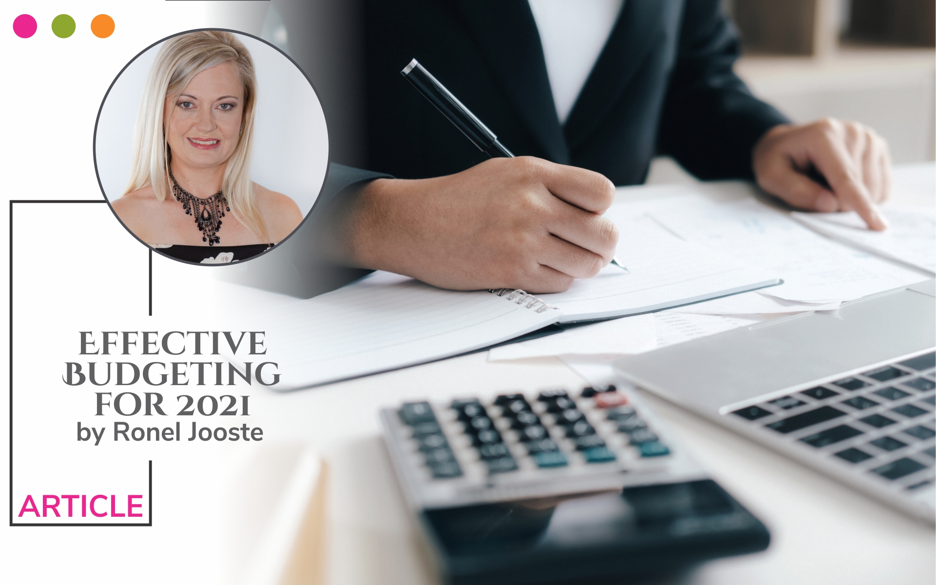 Financial Wellbeing according to Ronel Jooste
