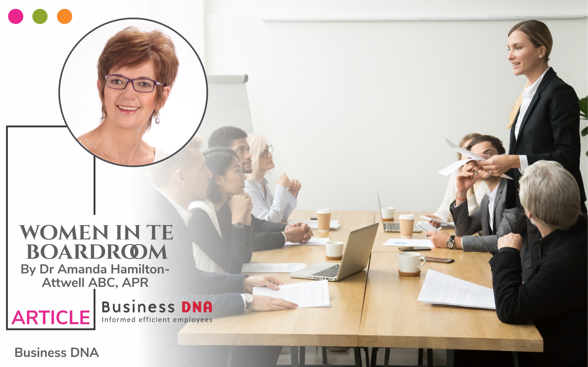 Article for Women in the boardroom