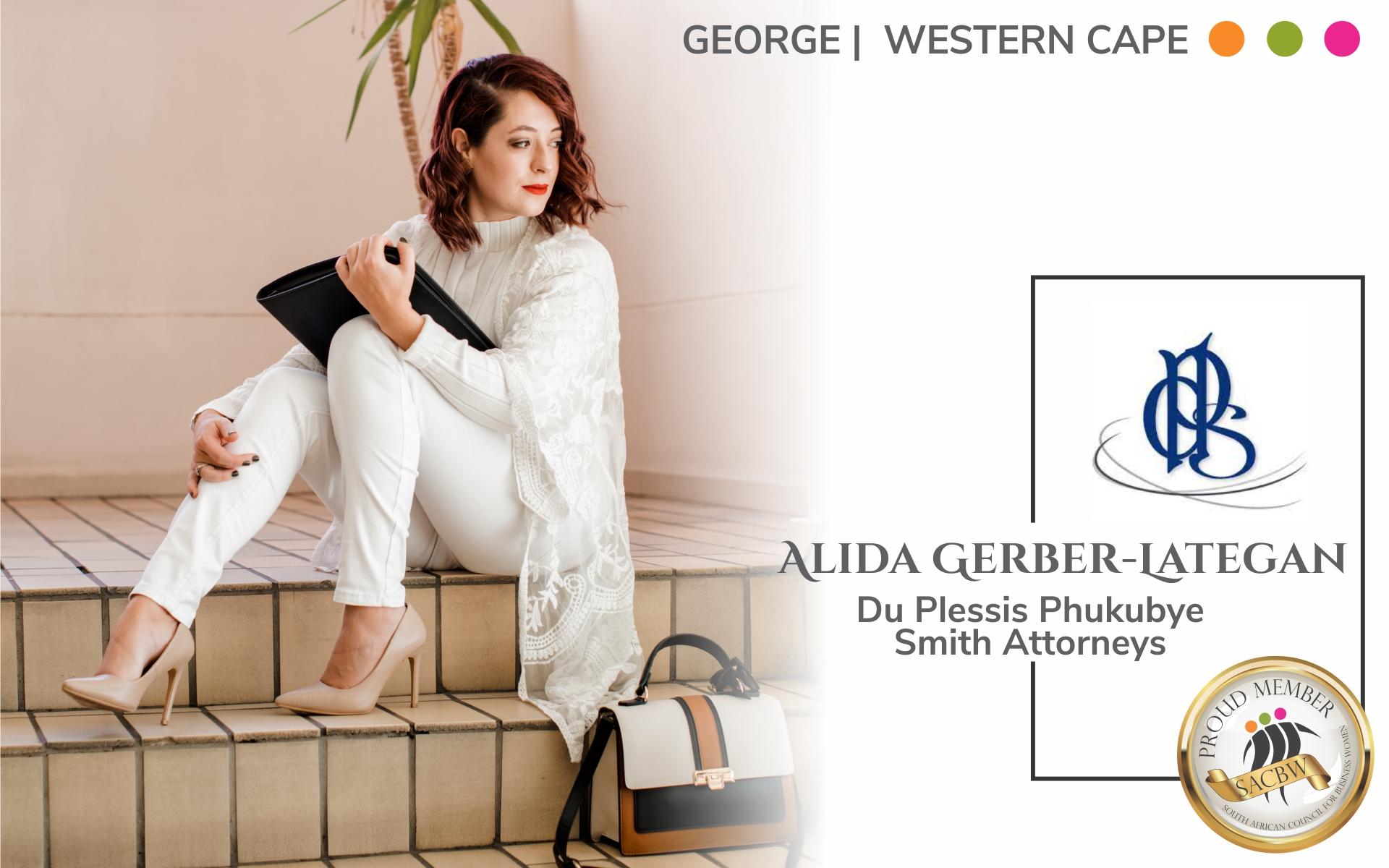 Member Feature for Alida Gerber Lategan