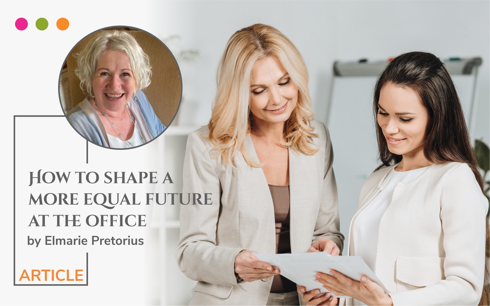 How to shape a more equal future at the office article image